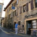Хаутериве - маленький швейцарский городок, где мы и остановились