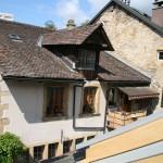 Старые крыши - вид из окна нашего отеля