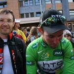 Неожиданно приехал Марк Кавендиш - он выиграл больше всех этапов на Туре