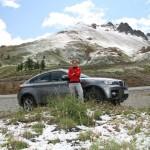 На перевале Col D'Izoard лежит снег, а завтра здесь поедет Тур де Франс