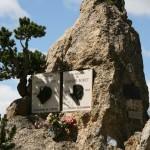 Мемориальные доски знаменитых велогонщиков Фаусто Коппи и Луи Бобе