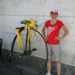 Италия, Пинеролло - здесь тоже любят велоспорт