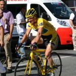 Томас Веклер - лидер гонки