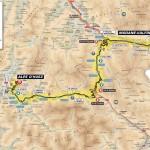 Карта первой гонки