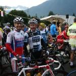 Мы с Владом на старте 1 этапа в Альбервиле