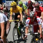 Брэдли Виггинс - лидер гонки