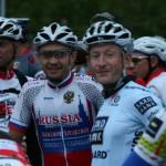 Мы с Владом на старте 2 этапа