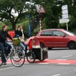 В Люксембурге все передвигаются на велосипедах